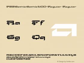 P22GothicGothic-Regular