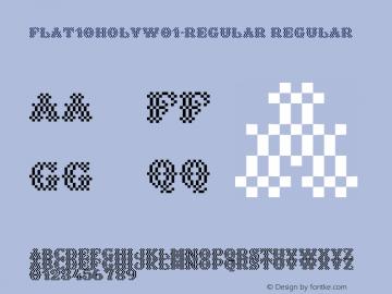 Flat10Holy-Regular