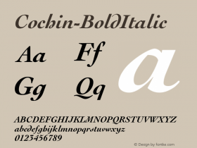 Cochin-BoldItalic