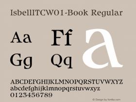 IsbellITC-Book