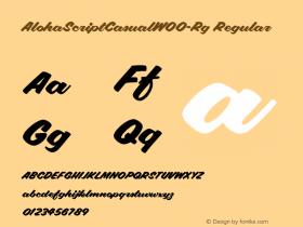 AlohaScriptCasual-Rg