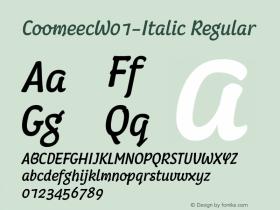 Coomeec-Italic