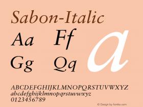 Sabon-Italic