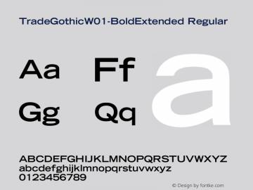 TradeGothic-BoldExtended