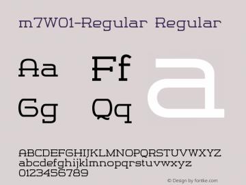 m7-Regular
