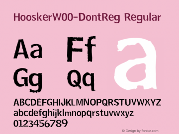 Hoosker-DontReg