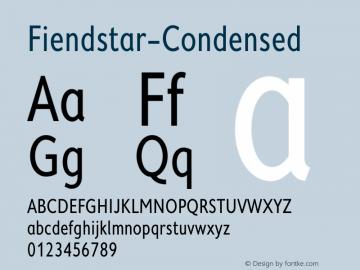 Fiendstar-Condensed