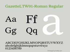 GazetteLT-Roman