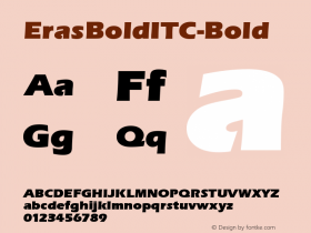 ErasBoldITC-Bold