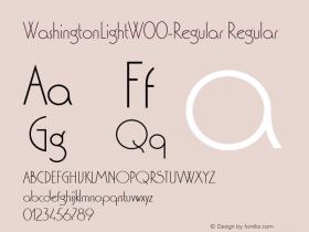 WashingtonLight-Regular