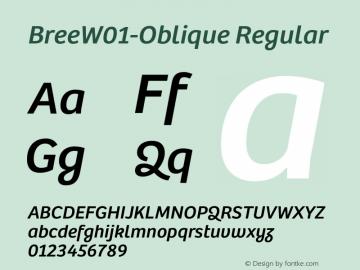Bree-Oblique