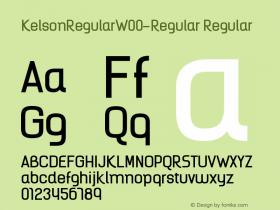 KelsonRegular-Regular