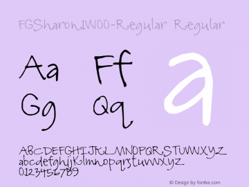 FGSharon1-Regular
