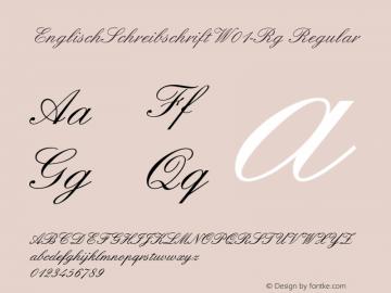 EnglischSchreibschrift-Rg