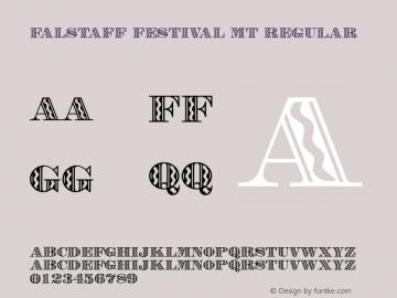 Falstaff Festival MT