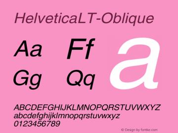 HelveticaLT-Oblique
