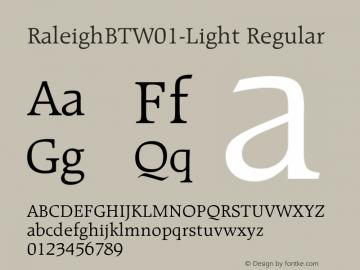 RaleighBT-Light
