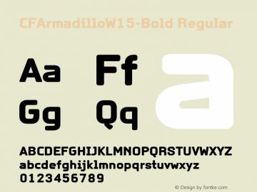 CFArmadillo-Bold