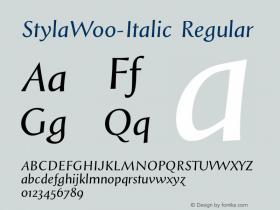 Styla-Italic