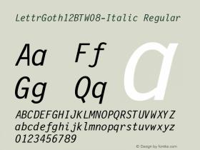 LettrGoth12BT-Italic
