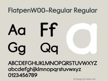 Flatpen-Regular