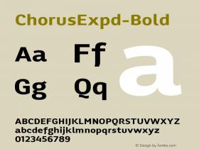 ChorusExpd-Bold