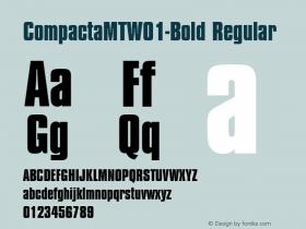 CompactaMT-Bold