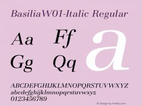 Basilia-Italic