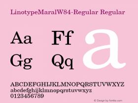 LinotypeMaral-Regular