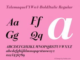 TelemaqueFY-BoldItalic