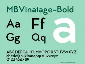 MBVinatage-Bold
