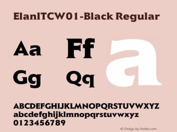 ElanITC-Black