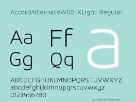 AccordAlternate-XLight
