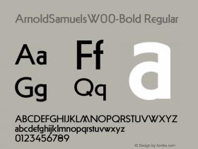 ArnoldSamuels-Bold
