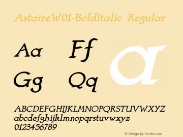 Astaire-BoldItalic