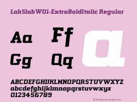 LabSlab-ExtraBoldItalic