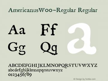 Americanus-Regular