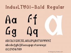 IndusLT-Bold