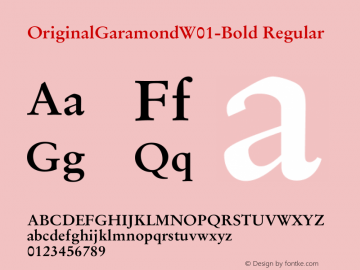 OriginalGaramond-Bold