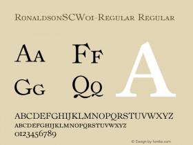 RonaldsonSC-Regular