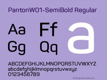 Panton-SemiBold