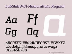 LabSlab-MediumItalic