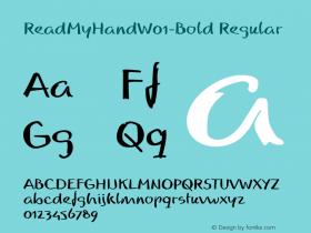 ReadMyHand-Bold