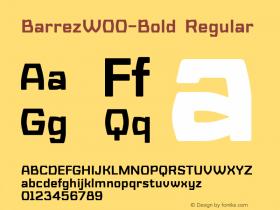 Barrez-Bold