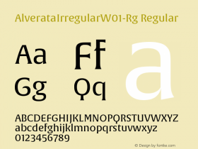 AlverataIrregular-Rg
