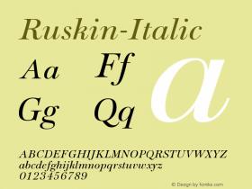 Ruskin-Italic