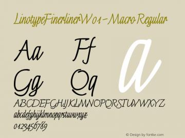 LinotypeFinerliner-Macro