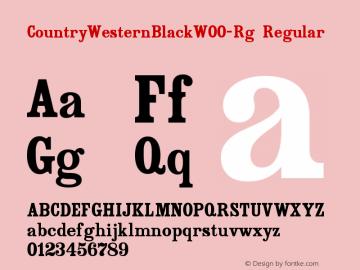 CountryWesternBlack-Rg