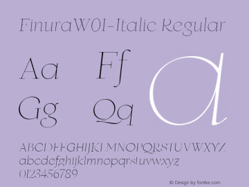 Finura-Italic