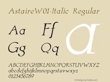 Astaire-Italic
